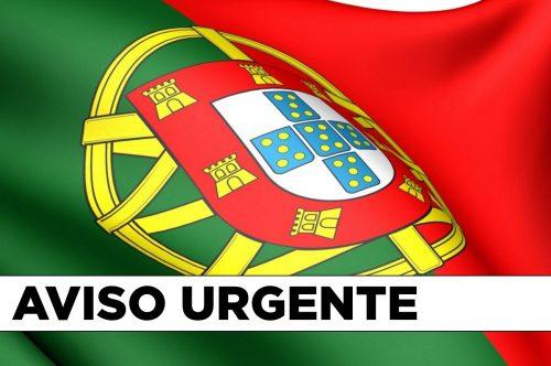 AVISO URGENTE – VÔO DE REPATRIAMENTO DE ITÁLIA PARA PORTUGAL (15 DE ABRIL)